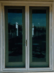 Two-door clearvision security doors melbourne