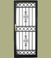 Wide Range Steel Security Door