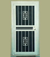 Steel Security Door Frame