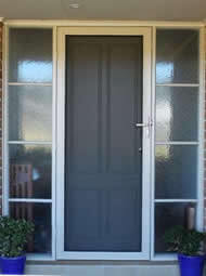 Security Doors Melbourne supplier clear vision stainless steel mesh
