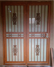 Melbourne Security Doors Colours