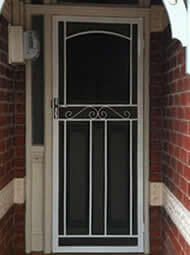 Fully Installed Steel Security Door